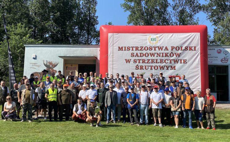 Już za nami jubileuszowe XXI Mistrzostwa Polski Sadowników w Strzelectwie Śrutowym zapraszamy na relacje